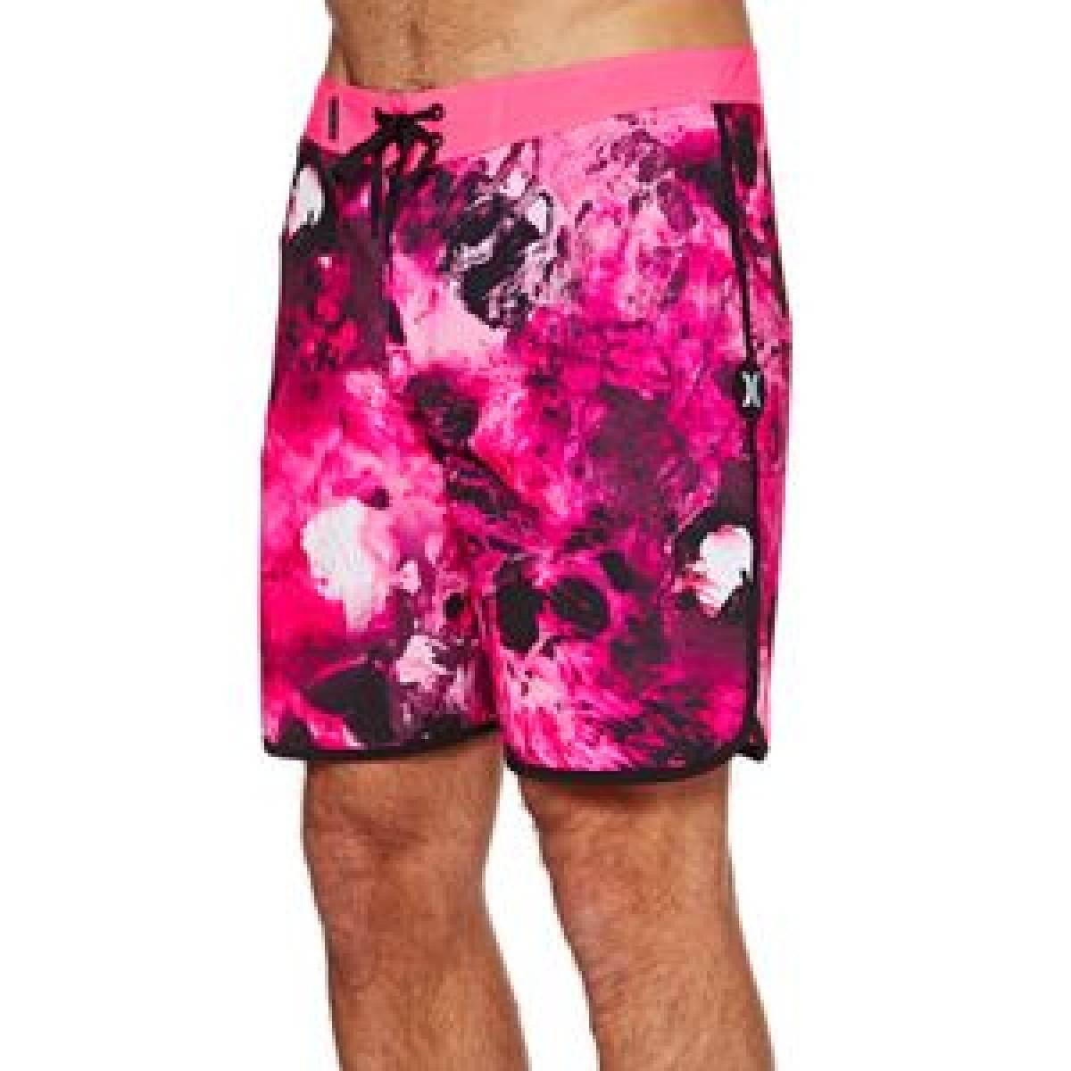 5c7119533d9 Hurley Phantom Snapper Rocks 18'' Board Shorts (Hyper Pink)