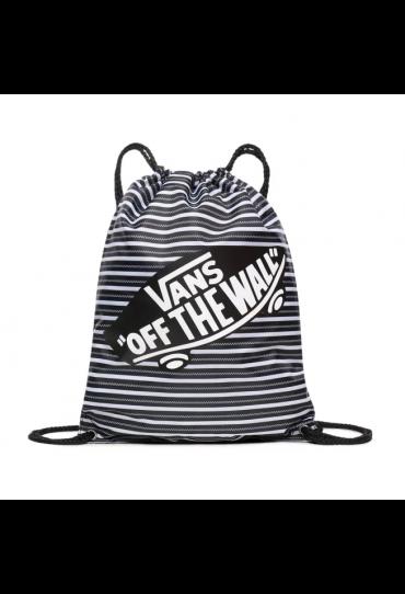 VANS BENCHED CINCH BAG (Mini Check Stripe)