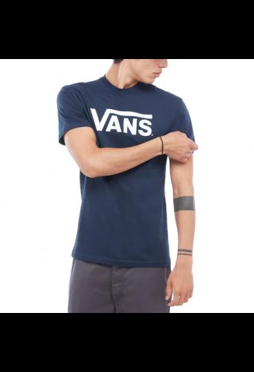 VANS CLASSIC T-SHIRT (NAVY/WHITE)
