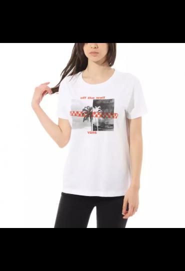 VANS HIGHLIGHTER T-SHIRT (WHITE)