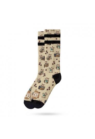 American Socks-Maneki-Neko-Mid High