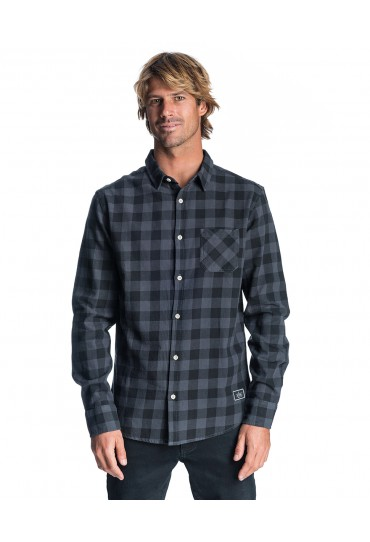 Rip Curl Check It Long Sleeve Shirt (Black)