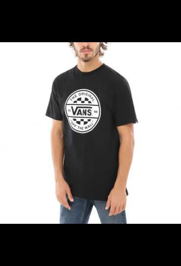 VANS CHECKER CO. SHORT SLEEVE T-SHIRT (Black/White)