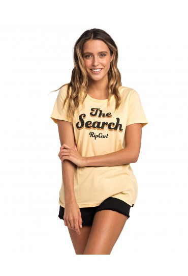 Rip Curl Keep Searching - Tee (Mustard)