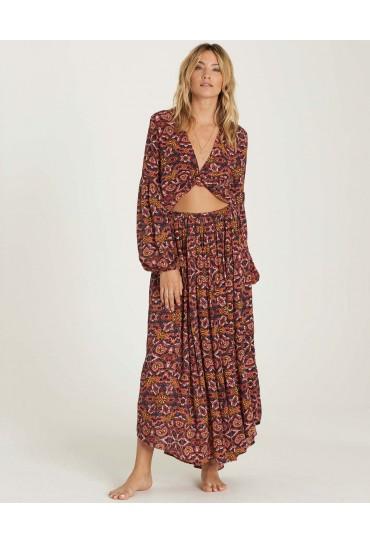 Billabong Sun Safari Maxi Skirt (Multi)