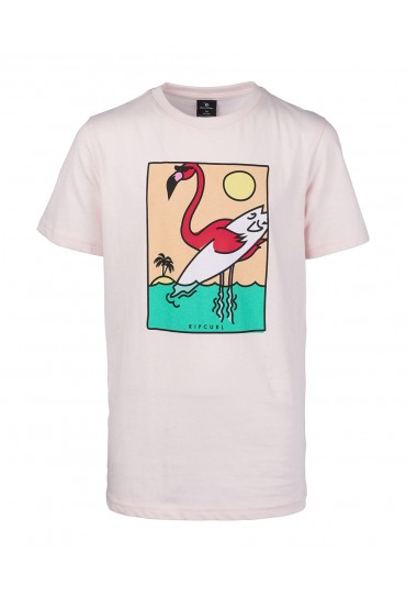 Rip Curl Surfing Flamingo Short Sleeve