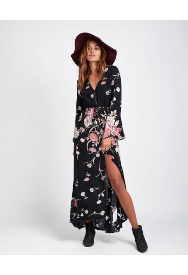 Billabong Desi Kimono Maxi Dress