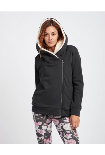 Billabong Cocoon Sherpa Lined up Hoodie