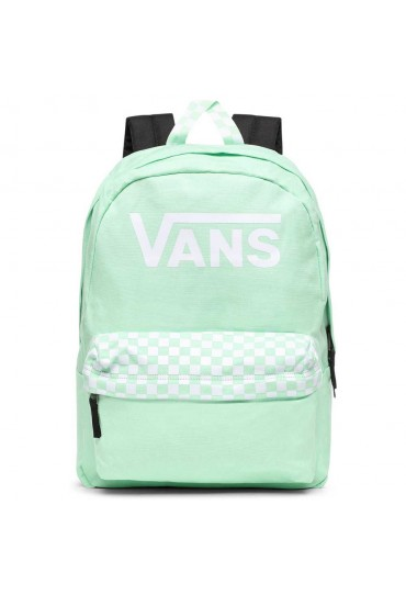 VANS COLOR THEORY REALM BACKPACK (GREEN ASH)