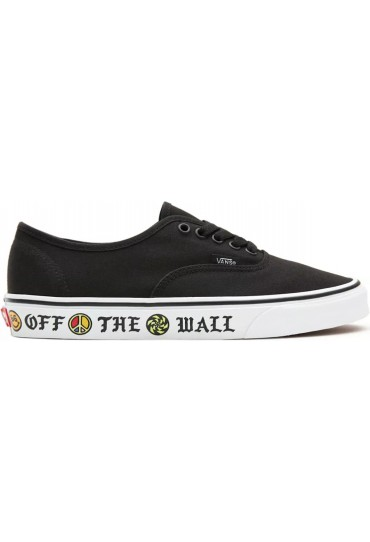 Vans UA Authentic (Sidewall) Otw/Black