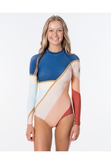 Rip Curl Long Sleeve UV Cheeky Lycra Surfsuit