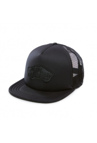 VANS CLASSIC PATCH TRUCKER HAT (Black)