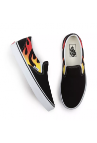 VANS FLAME CLASSIC SLIP-ON SHOES