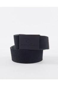 RipCurl Snap Revo Webbed Belt (Black/Olive)