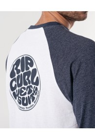 RipCurl The Wetty Long Sleeve Tee (White)