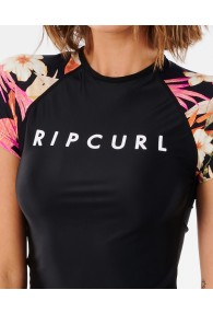 RipCurl North Shore Relaxed Short Sleeve UV Tee (Rash Vests)