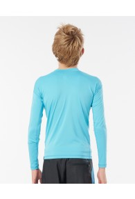 RipCurl Boys Corp Long Sleeve UV Tee (Blue)