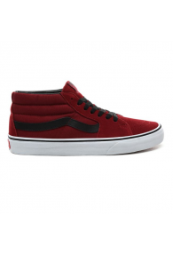 VANS SK8-MID SHOES (Biking Red/True White)