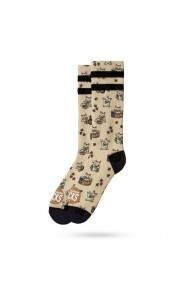 American Socks-Maneki-Neko-Mid High