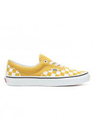 VANS CHECKERBOARD ERA SHOES (Checkerboard) Yolk Yellow/True White