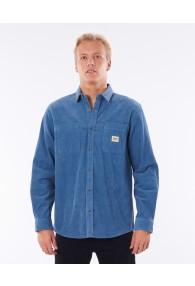 RipCurl Saltwater Long Sleeve Shirt (Dusty Blue)