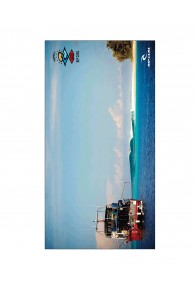 RipCurl Search Line Up Towel (Blue)