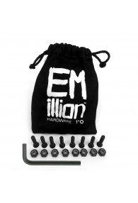 "EMILLION MOUNTING HARDWARE ALLEN 1"" BLACK"