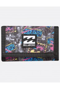 Billabong Atom Wallet (White)