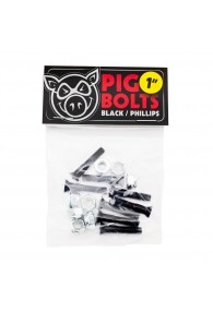 "PIG BLACK BOLTS 1"" PHILLIPS"
