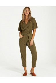 Billabong High Flyer Jumpsuit (Sage)
