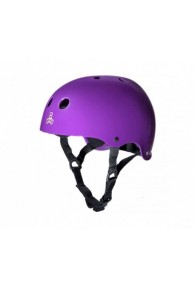 TRIPLE 8 DUAL CERTIFIED HELMET XS/S (Purple)