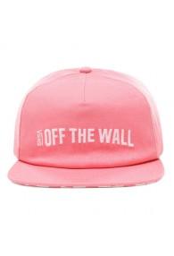 VANS CENTRAL HAT (Strawberry Pink)
