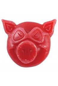 PIG CURB WAX RED