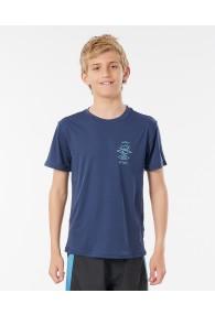 Rip Curl Boys Search Logo Surf Tee (Navy)